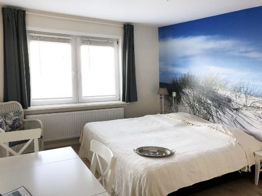 pension zandvoort aan zee appertement duin pan bed2